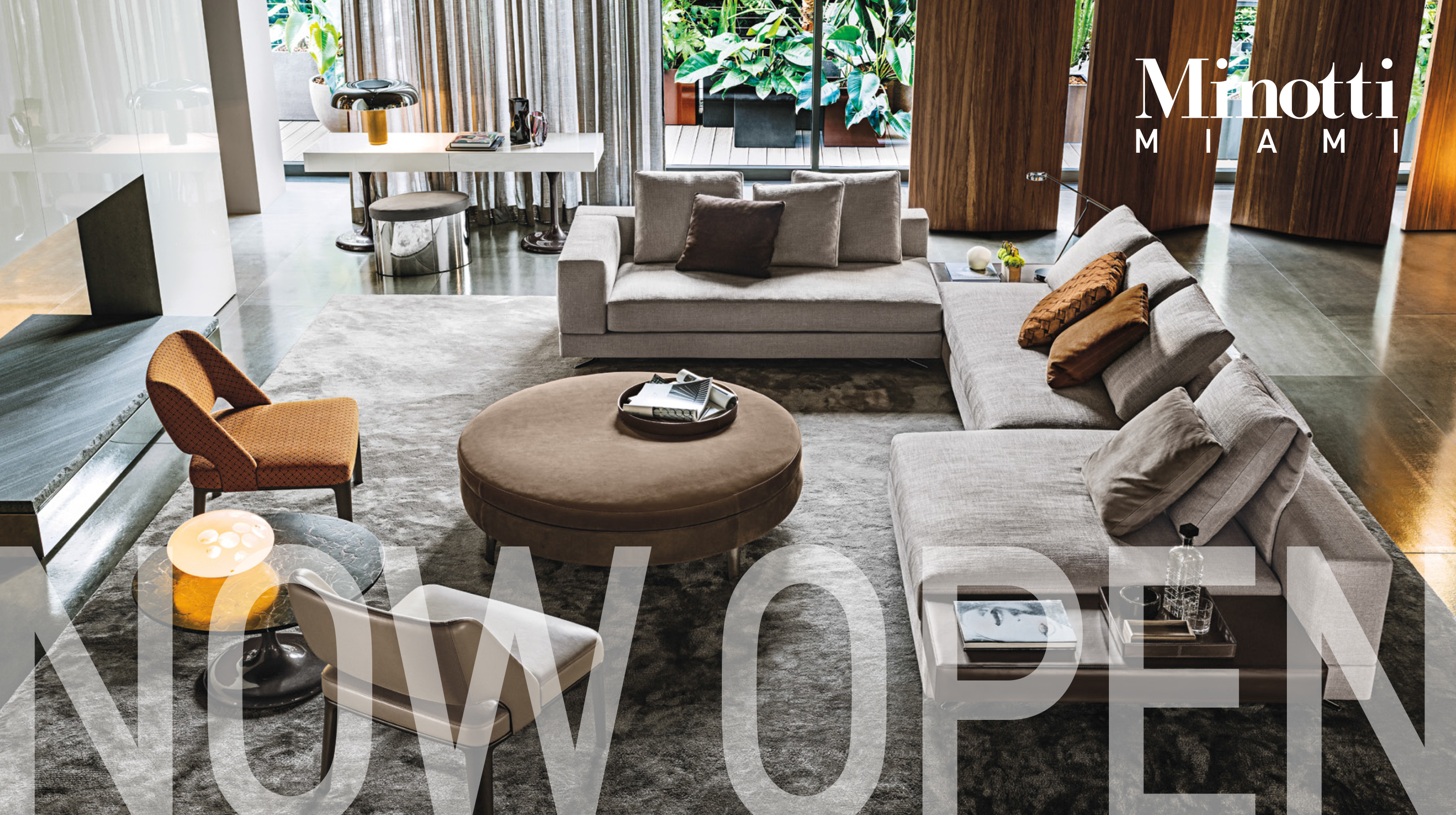 EXCLUSIVE MINOTTI MIAMI SHOWROOM NOW OPEN