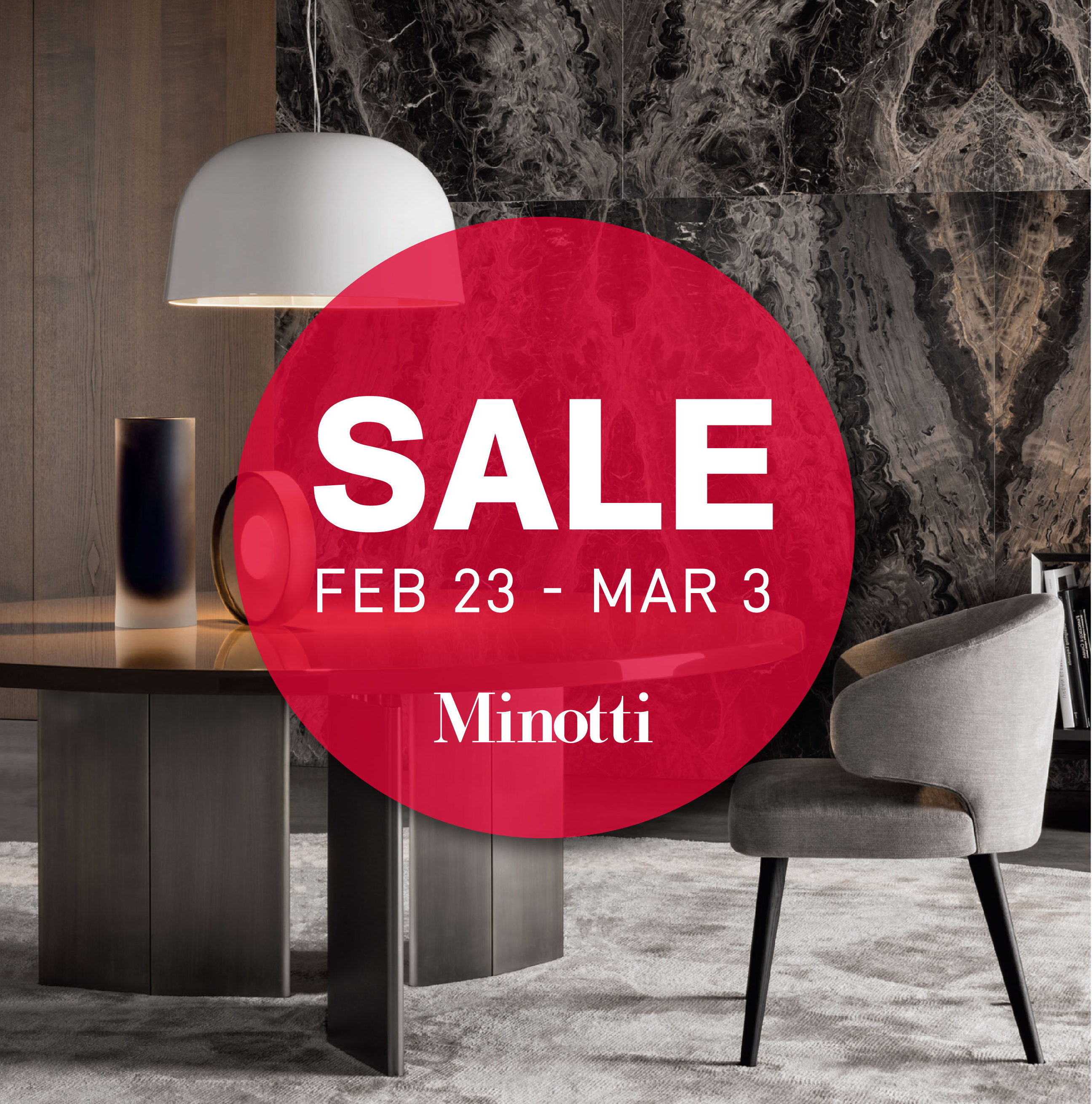 Annual floor sample sale